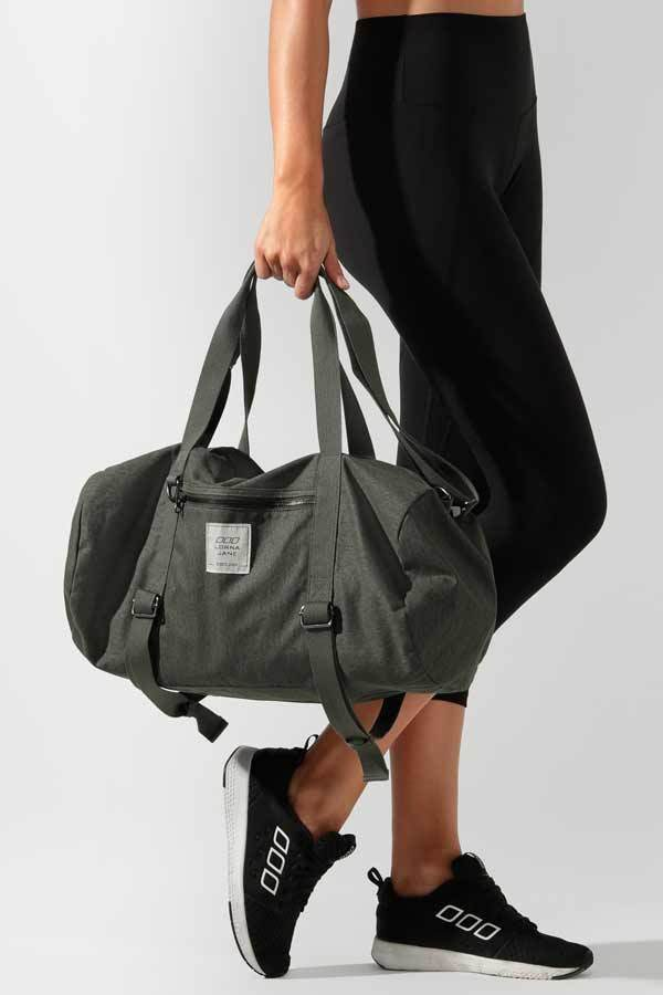 [로나제인]LORNA JANE Washed Yoga Duffle Bag [A101965]