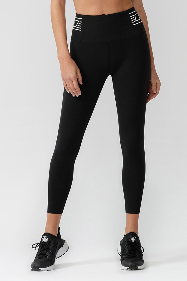 [로나제인] LORNA JANE Speed Stripe Core Ankle Biter Leggings [062057]